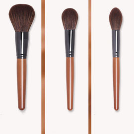 Compact Travel Makeup Brushes , Full Face Makeup Brush Set Free Samples