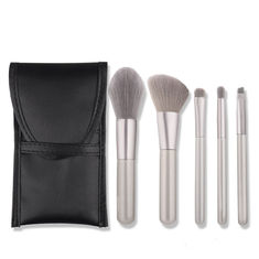 Professional Foundation Wooden Handle Makeup Brushes For Daily Applications