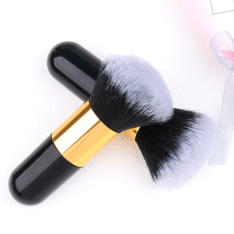 Luxury Professional Wool Makeup Brushes Set 0.03kg Single Weight With Belt Bag
