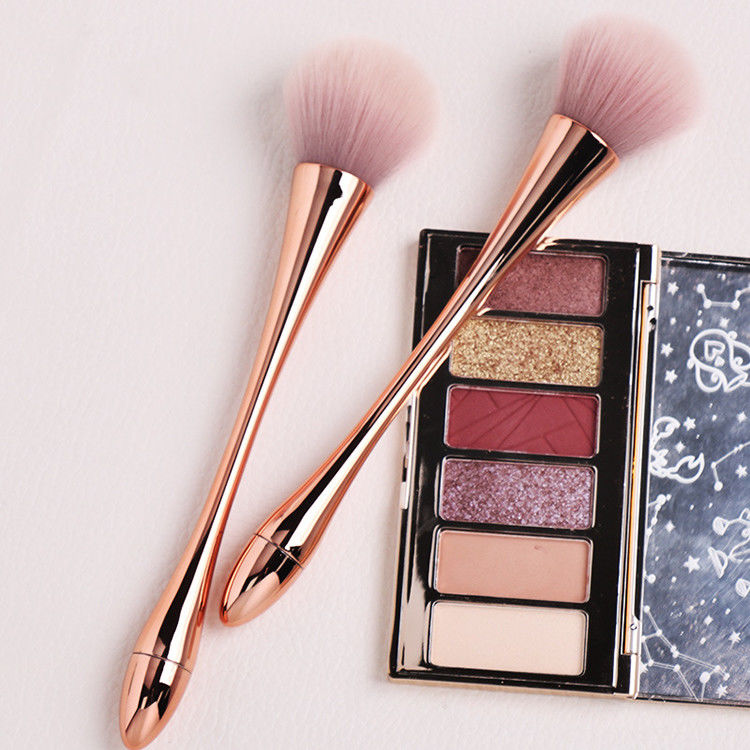Cosmetic Professional Synthetic Makeup Brush CNAS With Brush Bottle Customized