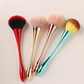 China Customized Color Face Makeup Brush Synthetic Hair Nail Painting Brush factory